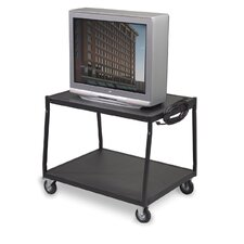 Low Wide Body TV Cart