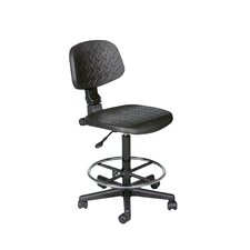 Height Adjustable Trax Stool with Footrest