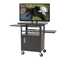 <strong>Balt</strong> Height Adjustable Flat Panel TV Cart