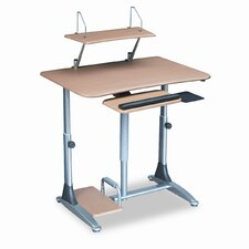 <strong>Balt</strong> Ergo Sit/Stand Workstation, 41w x 29d x 29-39h, Steel Base (Box One)