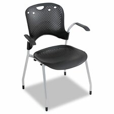 Low-Back Circulation Series Stacking Chair