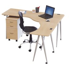 <strong>Balt</strong> IFlex L-Shape Desk Office Suite