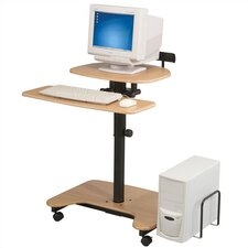 Adjustable Hi-Hi-Lo-3 Computer Workstation