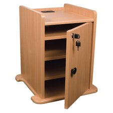 "14"" Presentation Cart Locking Cabinet"