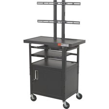 <strong>Balt</strong> Adjustable Height Flat Panel TV Cart