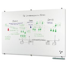 "Visionary 4' 5"" x 6' 4"" Whiteboard"