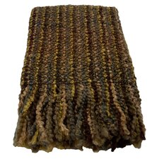 Stria Striped Woven Acrylic / Polyester Throw