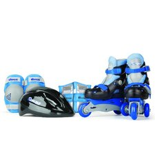 New Boy's Inline Skates Training Set