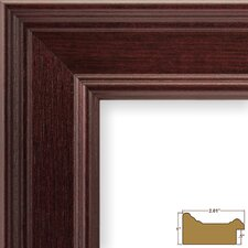 "2.01"" Wide Smooth Wood Grain Picture Frame"