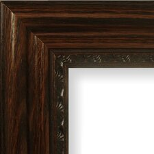 "2.75"" Wide Bunker Hill Real Wood Distressed Picture Frame / Poster Frame"