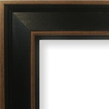 "2"" Wide Painted Wood Grain Picture Frame"