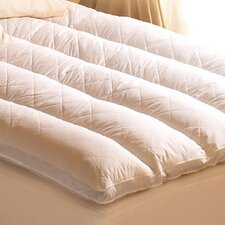 <strong>Pacific Coast Feather</strong> Euro Rest 100% Cotton Feather Bed