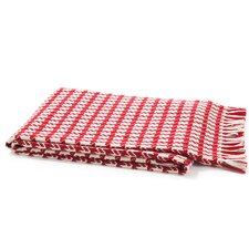 <strong>Peach Couture</strong> Luxurious 100% Cashmere Houndstooth Throw