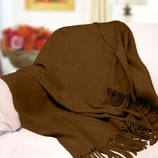 Peach Couture Signature Cashmere Throw