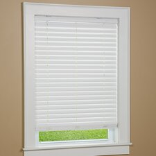 "One Touch 2"" Cordless Faux Wood Blind"