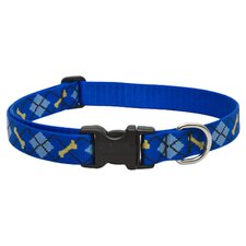 "Dapper Dog 1"" Adjustable Dog Collar"