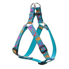 "Wet Paint 3/4"" Adjustable Dog Step-In Harness"