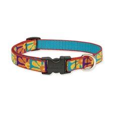 "Crazy Daisy 3/4"" Adjustable Dog Collar"