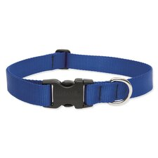 "Solid 1"" Adjustable Dog Collar"