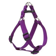 "Solid 3/4"" Adjustable Step In Dog Harness"