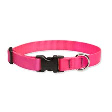 "Solid Colour 1/2"" Adjustable Dog Collar"