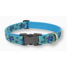 "Turtle Reef 1"" Adjustable Dog Collar"