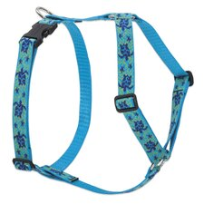 "Turtle Reef 1"" Adjustable Dog Roman Harness"