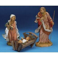 "12"" Holy Family Nativity Set"