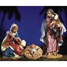 Three Piece Holy Family Nativity Set