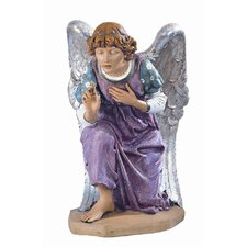 Scale Kneeling Angel Figurine Christmas Decoration
