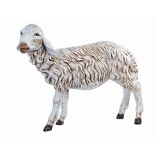 Scale Standing Sheep Figurine Christmas Decoration