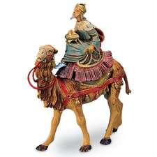 "5"" Scale 3 Kings on Camels Figurine Set"