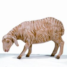 "27"" Scale Standing Sheep with Head Down Figurine"