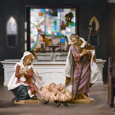 Four Piece Holy Family Nativity Set