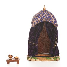 2 Piece King Tent Figurine Set