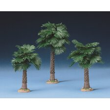 <strong>Fontanini</strong> 3 Piece Fan Palm Tree Figurine Set