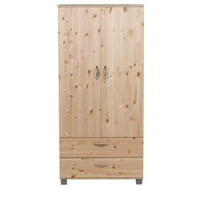 Trendy 2 Door 2 Drawer Wardrobe