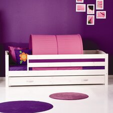 Trendy 3/4 Safety Rail Day Bed Frame with Drawers