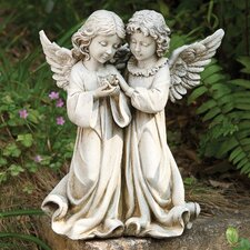 Angels with Bird Statue