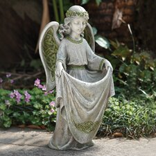 Irish Angel Decorative Bird Feeder