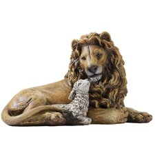 <strong>Joseph's Studio</strong> Lion and Lamb Figurine