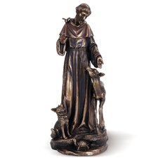 Saint Francis with Deer Figurine