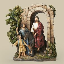 Palm Sunday Uffizi Nativity Figurine