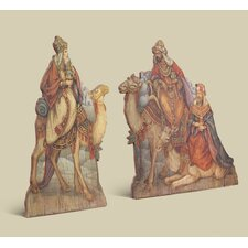 2 Piece Kings Giclee Natvity Set