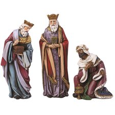 <strong>Joseph's Studio</strong> 3 Piece 3-Kings for Nativity Set