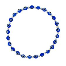Acrylic 'Evil Eye' Stretch Bracelet