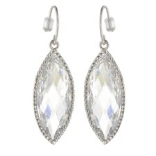 Marquise Cut Cubic Zirconia Dangle Earring