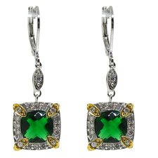Cubic Zirconia Dangle Earring
