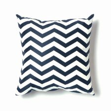 ZigZag Pillow in Navy