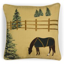 Abigail and Lily Equine Outdoor Sunbrella Winter Chill Horse Pillow